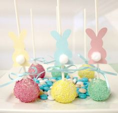 Easter cake pops by angela