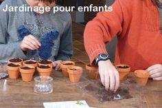 Jardinage pour enfants : http://www.radisetcapucine.com