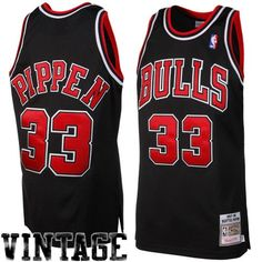 NBA Mitchell & Ness Scottie Pippen Chicago Bulls 1997-1998 Throwback  Authentic Jersey