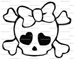 drawing pirate skulls - Google Search