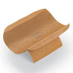 Away in a Manger: The Manger. toilet paper roll and staples