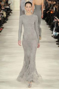 Ralph Lauren RTW Fall 2014 - Slideshow - Runway, Fashion Week, Fashion Shows, Reviews and Fashion Images - WWD.com this is what I just might wear as the mother of the bride or groom (whichever comes first)