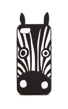 Zebra iPhone case. So cute.