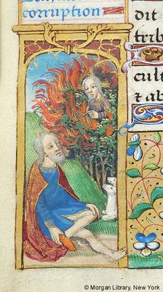 Book of Hours, MS H.5 fol. 33v - Images from Medieval and Renaissance Manuscripts - The Morgan Library & Museum