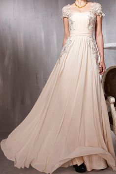 lace prom dress, long prom dress, cheap prom dress, evening prom dresses, RE080. $168.00, via Etsy. Absolutely Breathtaking