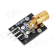 650nm Laser Diode Module for Arduino (Works with Official Arduino Boards). Model N/A Quantity 1 Color Black Material PCB Features Working voltage: 5V, wavelength: 650nm Application Arduino DIY part Packing List 1 x Laser module. Tags: #Electrical #Tools #Arduino #SCM #Supplies #Boards #Shields