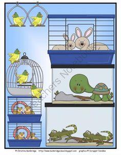 Graph It! Pet Shop Math activity from Mrs. Bainbridge's Shop on TeachersNotebook.com -  (6 pages)