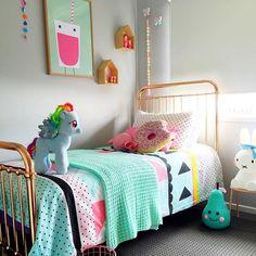 #monday #sleepy #bed #bedroom #girlsroom #kids #kidsroom #crochet #art #linen #mylittlepony #wooden #handmade #shopsmall #kidsstyle #design #decor #interiors #kidsdecor #insperation #interiordesign #kmart #kmartaus #target #targetaus #miffy #miffylamp #cushion #love