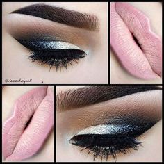 #makeup #beauty #style #eyeshadow #eyeliner #lipstick