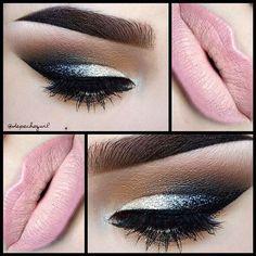 #makeup #beauty #style #eyeshadow #eyeliner #lipstick