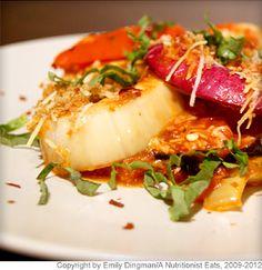 Vegetable Parmesan  Shredded Pecorino Romano transforms plain vegetables into a sensational side dish.