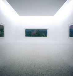 "Chichu Art Museum, Naoshima, Japan. ""Claude Monet - room"""