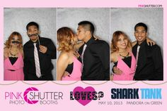 Pink Shutter celebrates its debut on abc's Shark Tank! [ http://pinkshutter.com/shark-tank/ ] #sharktank #photobooth