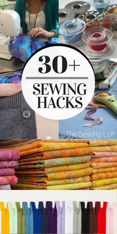 Not your Grammy's Sewing! Improve your sewing skills with these 30+ sewing hacks and awesome tricks. Something for every skill level.
