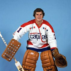 The Strangest One Of All: Absurd Goalie Monday: Michel Belhumeur Rink Hockey, Hockey Goalie, Hockey Teams, Columbus Blue Jackets, Washington Capitals, Nhl, Old School, History, Sports