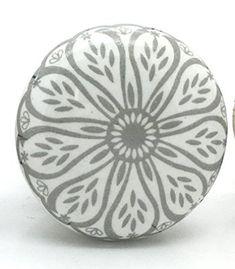 Success III Ceramic Door Knob Vintage Shabby Chic Cupboard Drawer Pull Handle
