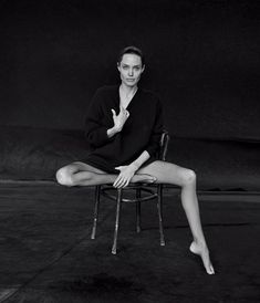Angelina Jolie for WSJ. Magazine by Peter Lindbergh