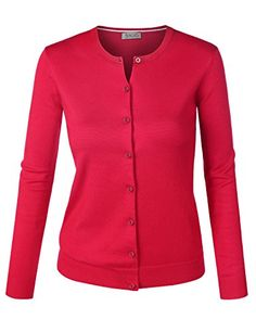 Special Offer: $12.70 amazon.com Lined Crewneck Soft and Silky Knit Button Down SweatersRound NecklineLong SleeveRuns smaller than usualMachine WashMedium Weight Stretch Fabric