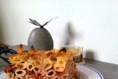 Retete Culinare - Penne cu ton la cuptor