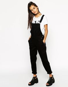 7c46889f8636 ASOS 90s Style Overalls at asos.com