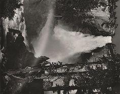 ANSEL ADAMS (AMERICAN, 1902-1984) i. Merced River, Cliffs, Autumn, Yosemite Valley, California, 1939ii. Nevada Fall, Rainbow, Yosemite