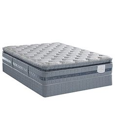 Serta Perfect Sleeper Elite Mattress Sets, Serene Breeze Plush Pillowtop - Serta - mattresses - Macy's