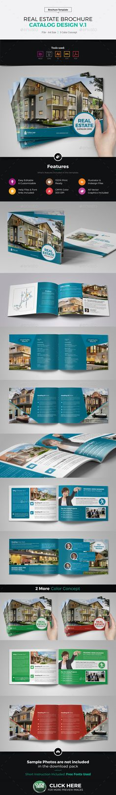 Technology Brochure Catalog Design v5 Catalog design, Brochures - sample real estate brochure