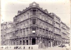 Así era Vigo en el pasado (Foto Colección de la Asociación Veciñal de Teis)  Edificio Rubira  #galiciaretro