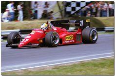 Michele Alboreto - 1984 Ferrari