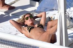 #Bikini Sylvie Meis in Black and Gold Bikini in Capri | Celebrity Uncensored! Read more: http://celxxx.com/2017/06/sylvie-meis-in-black-and-gold-bikini-in-capri/
