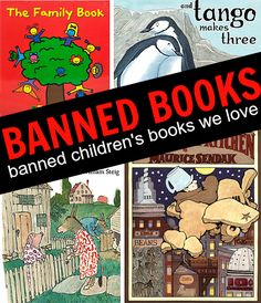 Banned Children's Books - Would you ban these picture books? Who banned Sylvester and the Magic Pebble!!!!!!