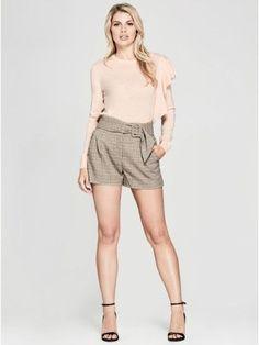 GUESS by Marciano Women's Lena Ruffle Long-Sleeve Sweater