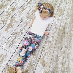 Floral Leggings Babu leggings leggings and by EvelinaLillie