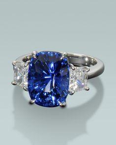 Sapphire ring   Engagement Rings Fine Gemstones Gold Platinum Designer Jewelry