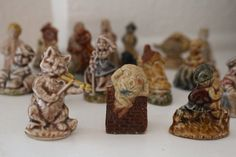 20 Piece Collection WADE Nursery Rhyme Whimsies  by SunnyDayFinds