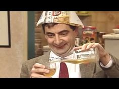 New Year with Bean Mr Bean, Happy New Year Everyone, Funny Clips, How To Find Out, Beans, Classic, Youtube, Film, Humor