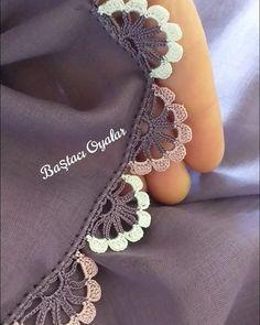 Crochet Lace Edging, Crochet Borders, Crochet Art, Crochet Hooks, Baby Knitting Patterns, Crochet Patterns, Saree Kuchu Designs, Embroidery Fashion, Crochet Videos