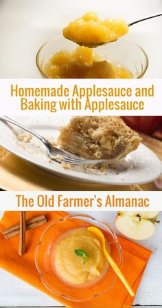 Have you ever made homemade applesauce? Learn how with The Old Farmer's Almanac!