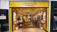 The Cable Lights hanging in the new L'occitane en Provence concept store in the Parly 2 shopping mall near Paris. www.patrickhartog.com/locations/loccitane-en-provence/ #cablelight