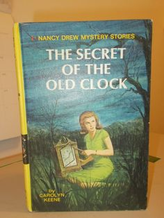 Nancy Drew #01 The Secret of the Old Clock Blue End Pages Carolyn Keene