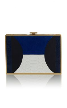 Modernist and lovely//Mixed Media Minaudière