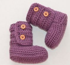 Crochet Baby Booties Newborn Crochet Shoes by BabyGirlsGlam, $14.99