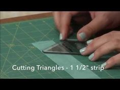 Jaybird Quilts Mini Hex N More Ruler Tutorial by Julie Herman - YouTube