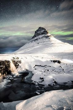 """""""In all honesty, it's not really that hard to be inspired by Iceland. Last night at Kirkjufell."""" - Christoffer Collin"""