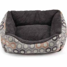 Super soft pet bed for Cats/Small Dogs, blue, gray and pink