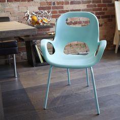 Oh Chair | Comfortable, cool, stackable | Karim Rashid for Umbra