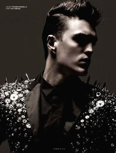 Josh Beech by Marco Falcetta for Homme Style .