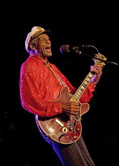 Chuck Berry, one of the original rock-n-rollers Rock Roll, Rock N, Charles Edward, Johnny B, Chuck Berry, Rollers, Musicians, Shit Happens, The Originals