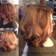 More Spring highlights!  #VelvetSalon #FocusSalon #Highlights #Curls #SpringHair #EricaMaurianne