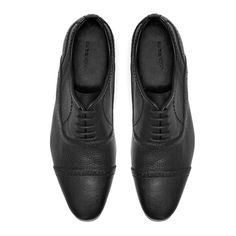 LEATHER OXFORD SHOES from Zara
